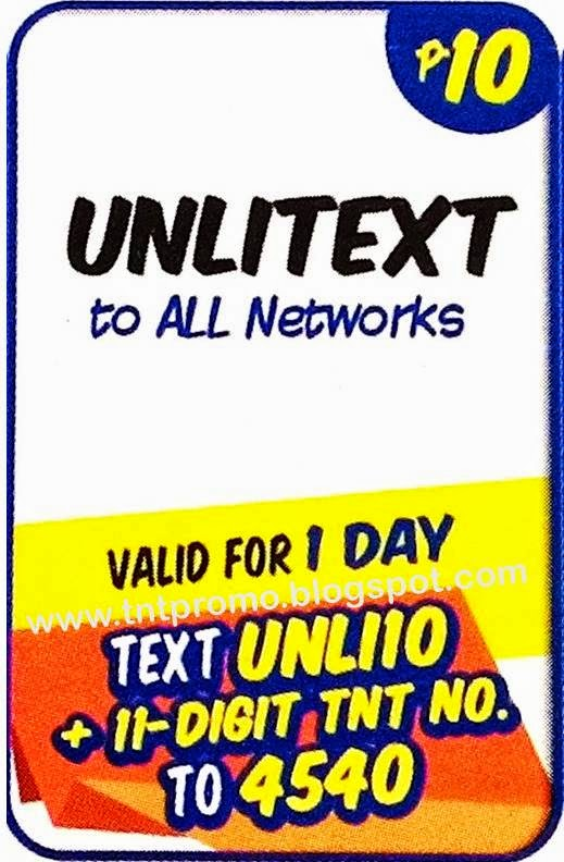tnt new unlitext to all network 2015