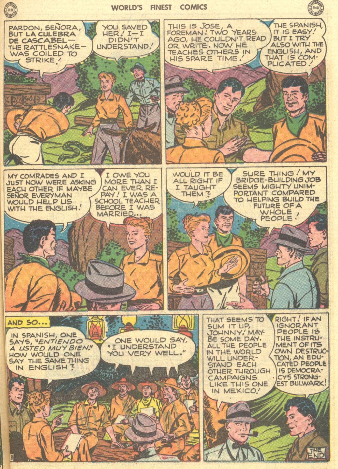 Read online World's Finest Comics comic -  Issue #28 - 58
