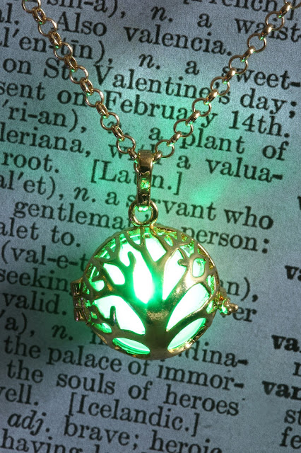 Glowing Tree of Life Pendant