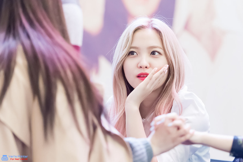 I Love Red Velvet Yeri Rv 2nd Album The Velvet Fansign