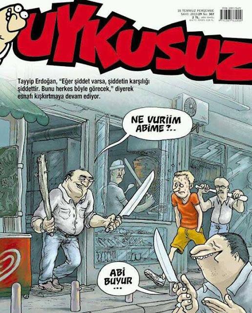 """Recep Tayyip Erdoğan: """"Eğer şiddet varsa, şiddetin karşılığı şiddettir. Bunu herkes böyle görecek."""""""
