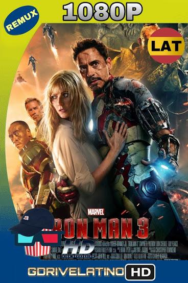 Iron Man 3 (2013) BDRemux 1080p Latino-Ingles MKV