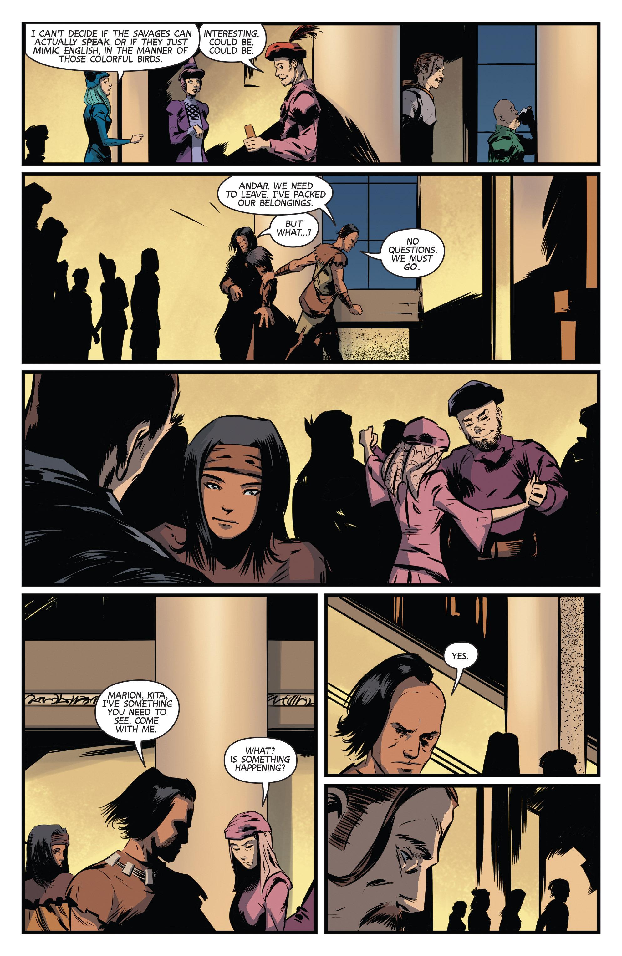 Read online Turok: Dinosaur Hunter (2014) comic -  Issue # _TPB 3 - 46