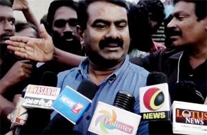 Seeman Press Meet About Chennai Flood
