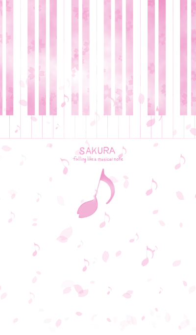 SAKURA ~ Falling like a musical note ~