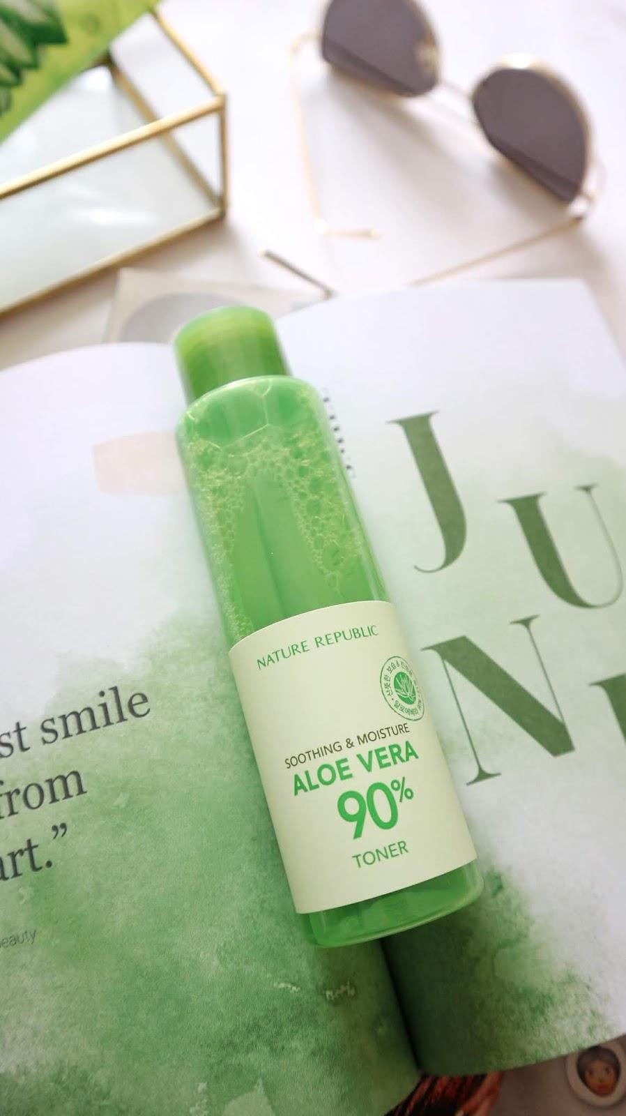 Nature Republic Soothing & Moisture Aloe Vera 90% Toner