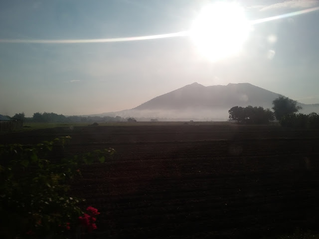 Mt. Arayat from below