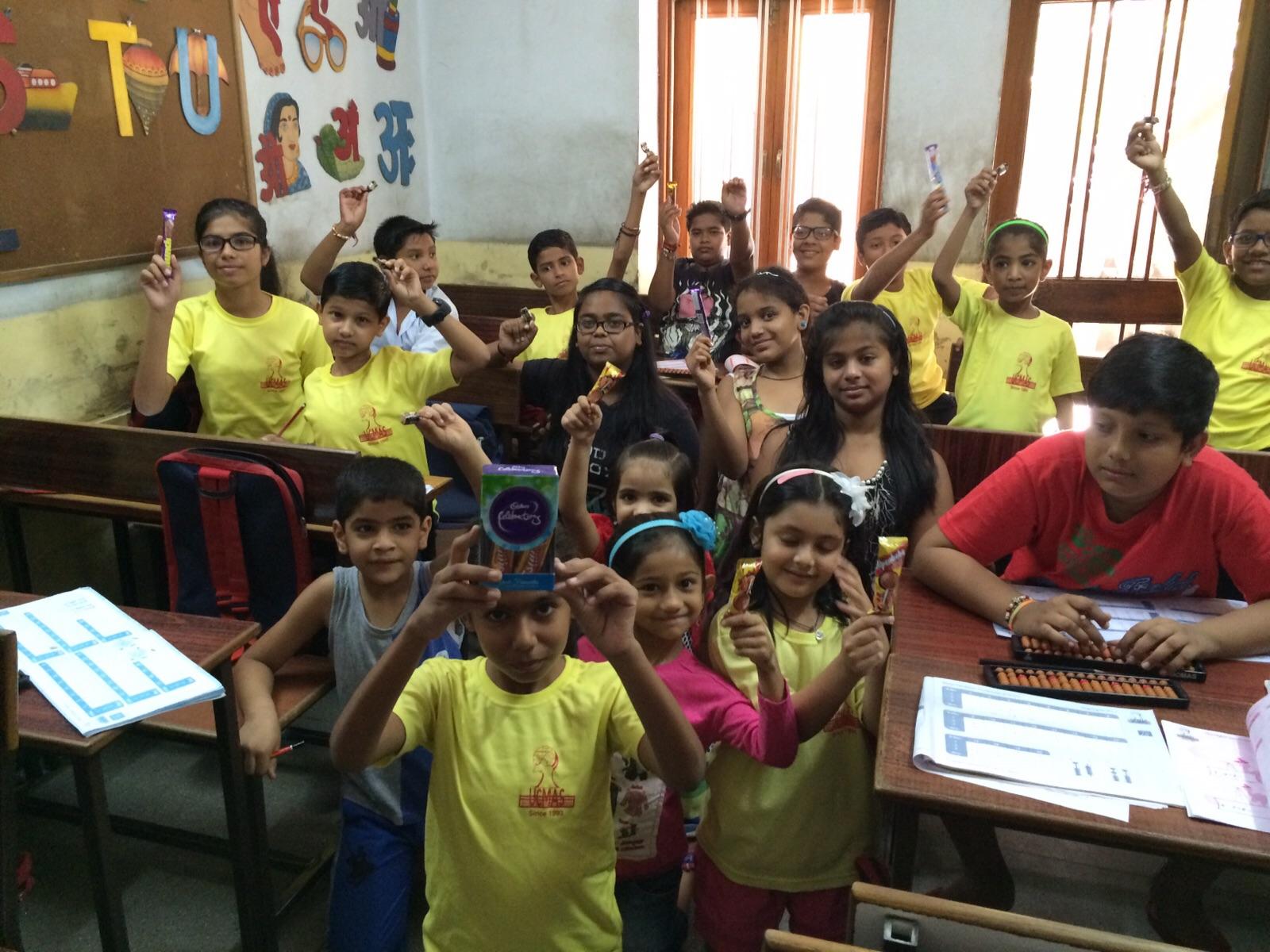 Ucmas Abacus For Kids Uc Mas Chocolate Test