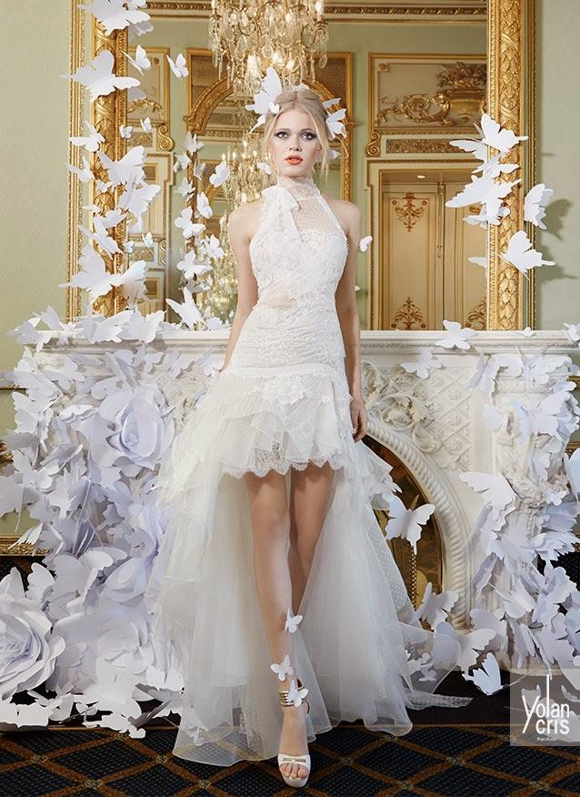 abiti da sposa 2015 YolanCris Lace Couture e matrimoni a tema