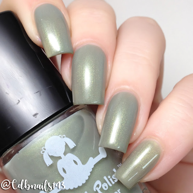 Dollish Polish-Monster On Minkwood