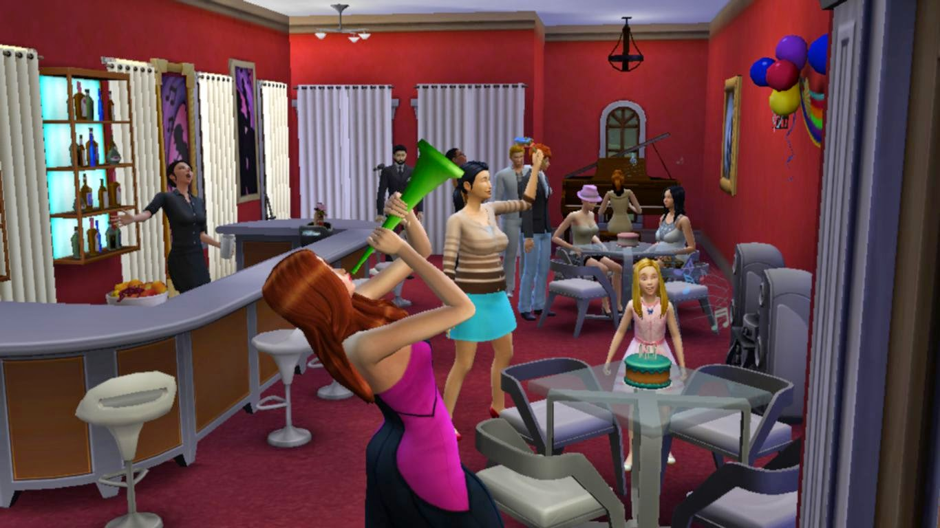 sims 4 birthday party