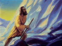 "Moses climbed Mount Sinai and the Lord told him. ""If you will obey me and keep my law, you will be a special race of people to me."""