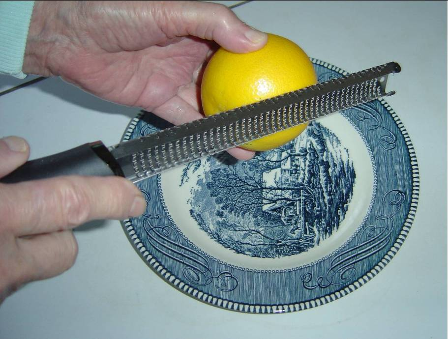 demonstrating grating lemon with rasper.jpeg