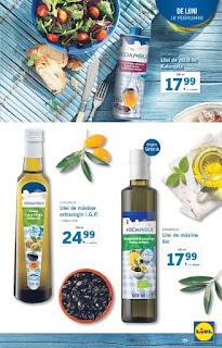 CATALOGUL LIDL 18 - 24 februarie 2019 ulei de masline grecesc