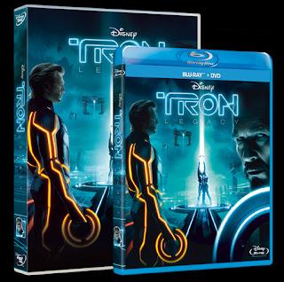 Tron Legacy DVD Blu-Ray 3D