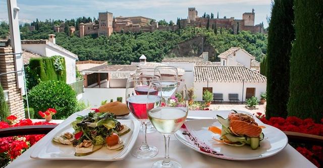 Restaurante em Granada