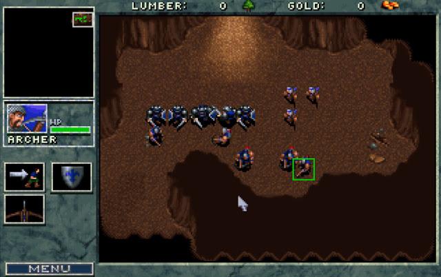 Warcraft 1 Dungeon Screenshot