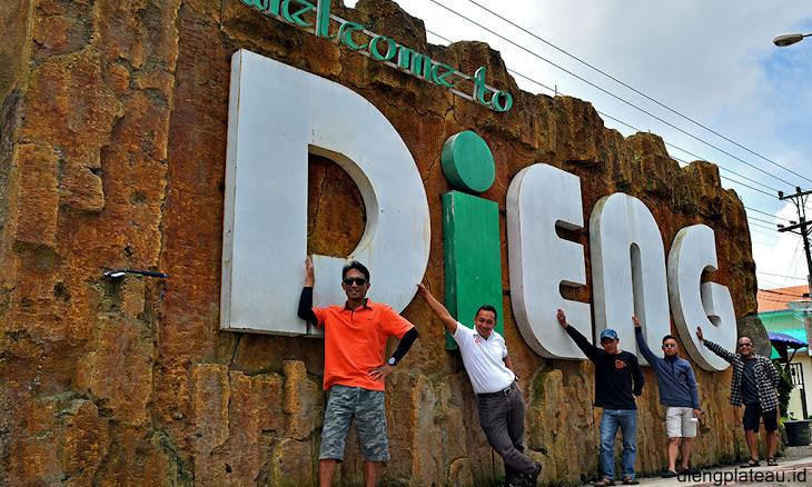 selamat datang wisata di dataran tinggi dieng plateau