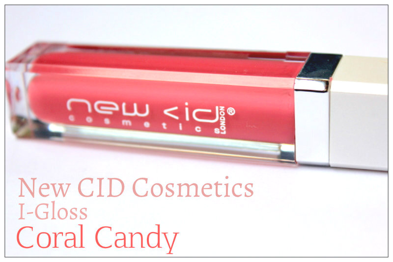 Review: New CID Cosmetics I-shine Lipgloss Candy Coral