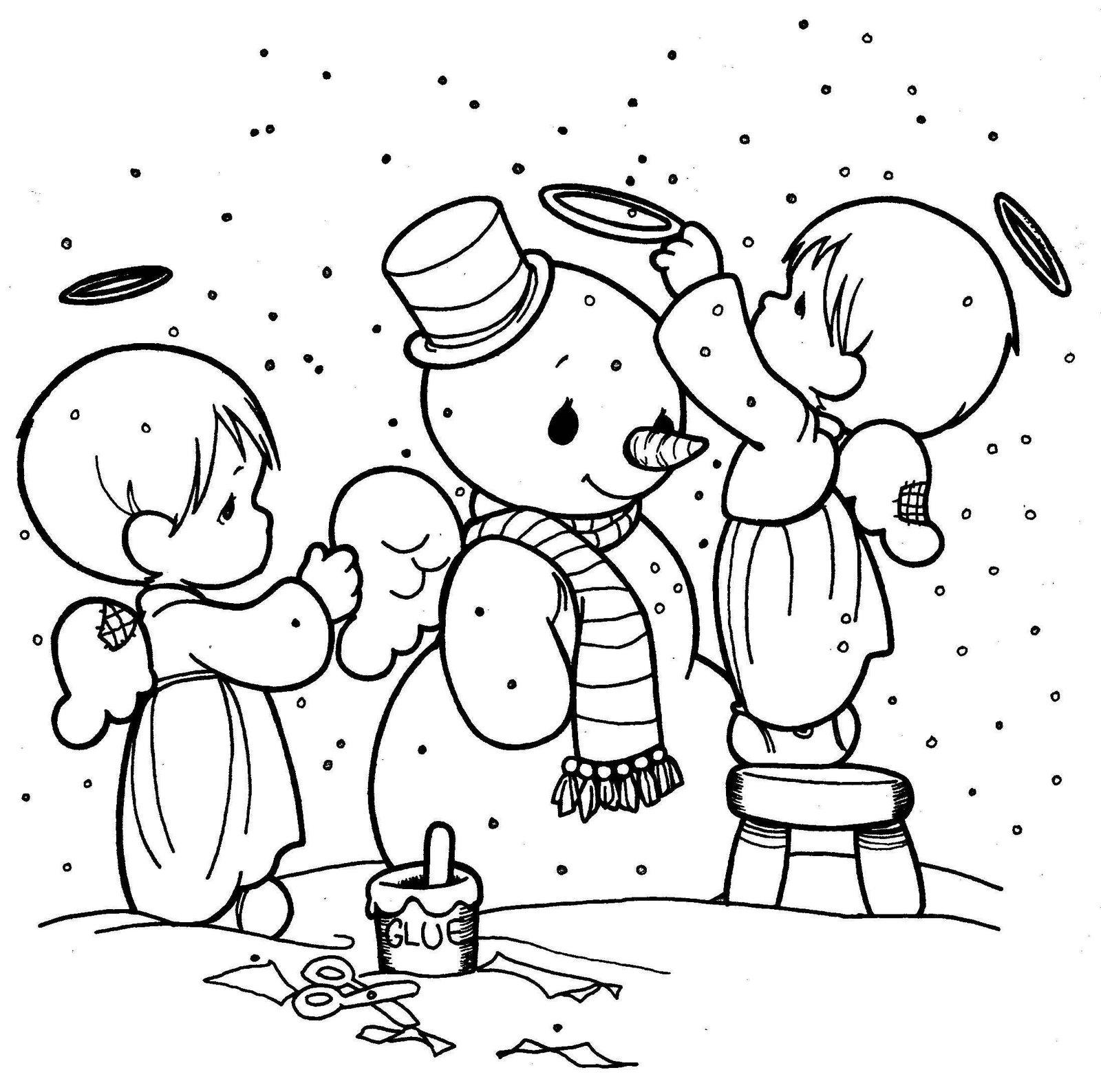 Imagenes De Navidad Para Colorear E Imprimir