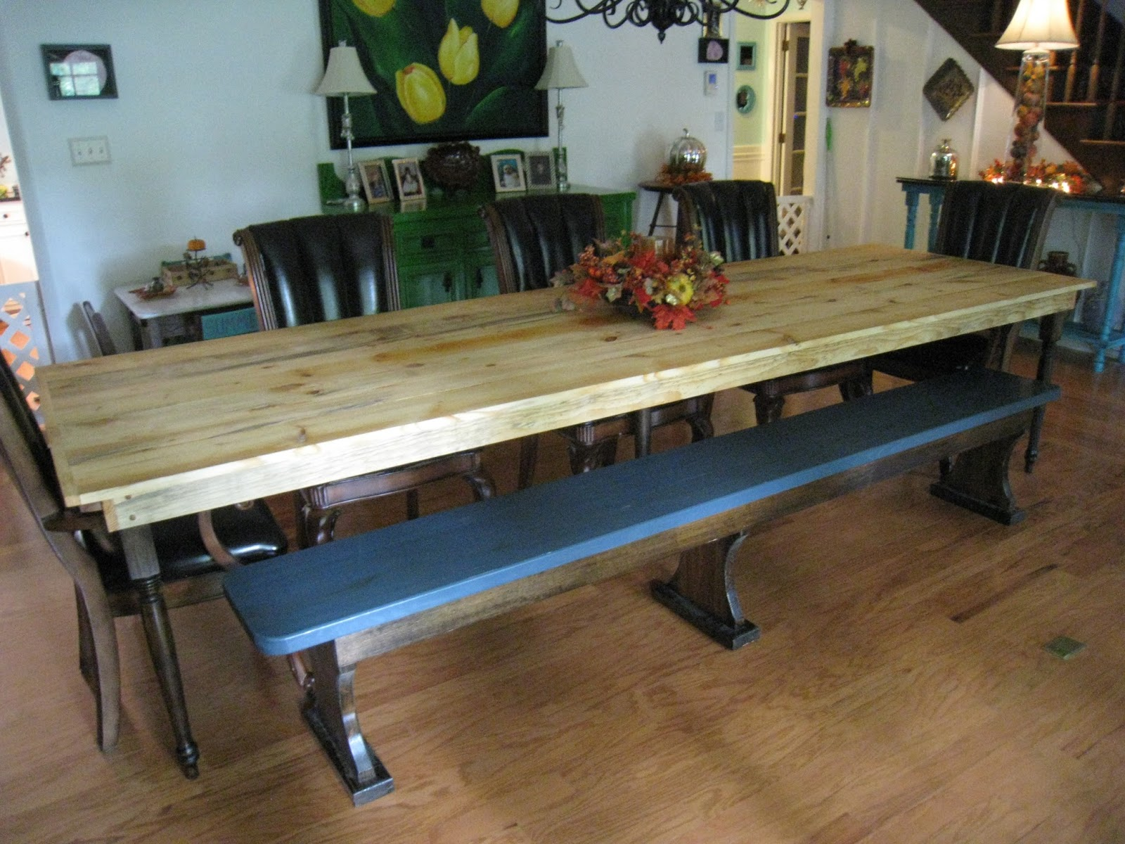 MAKING A NEW/OLD FARM TABLE