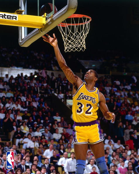 Magic Johnson Basketball Player | The Power Of Sport and games