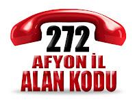 0272 Afyonkarahisar telefon alan kodu