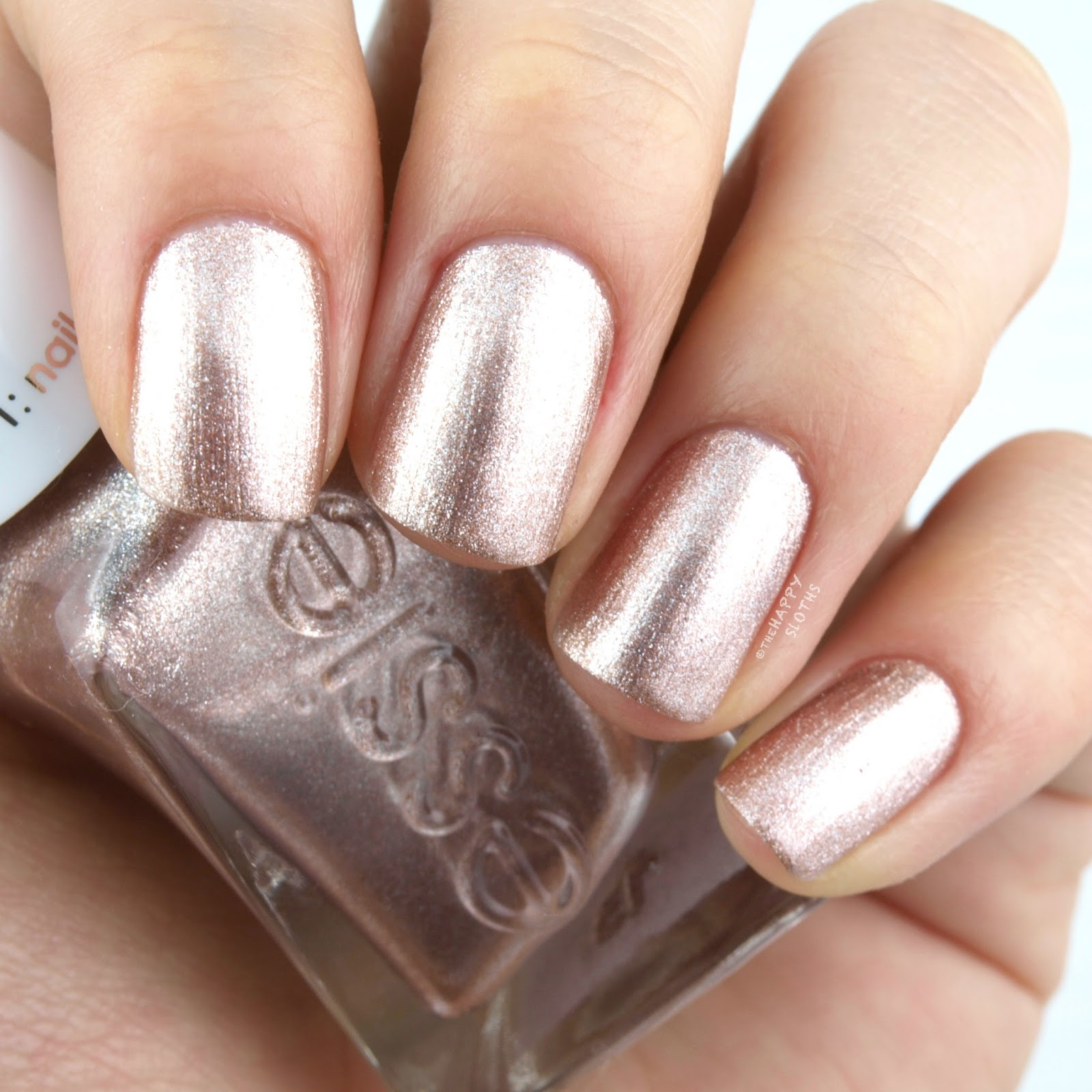 "Essie Gel Couture Bridal 2017 Collection in ""To Have & To Gold"": Review and Swatches"