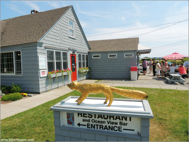 Lobster Shacks en la Costa Sur de Maine: Fox's Lobster House