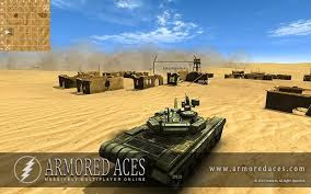 Download Armored Aces 3D Tanks Online MOD APK Unlimited Money 2.4.6