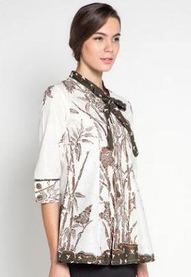 Model Baju Batik Remaja Putri Terbaru Trendy