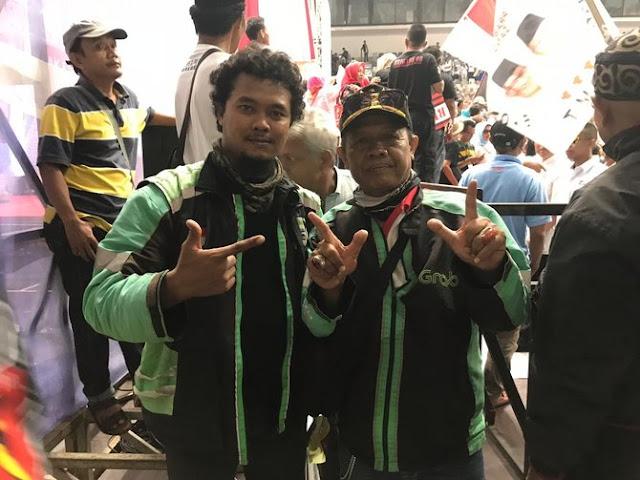 Tak Tersinggung, Prabowo Justru Akan Dijadikan Sebagai Bapak Ojek Online