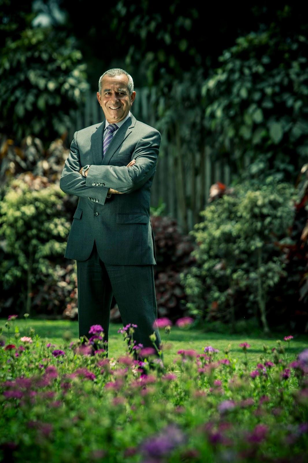 MIGUEL PAREDES HARO: Marco Álvarez Vargas, alcalde de San Borja