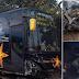 Lagi-Lagi Bus Sempati Star Tabrak Mobil Avanza di Kawasan Jeumpa Bireuen