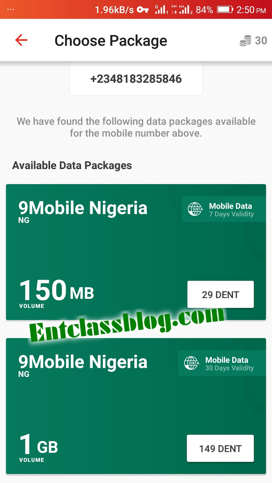 How To Get Unlimited Data On Any Network Using Dent Android app