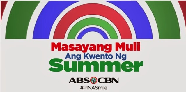 ABS-CBN 2014 summer station ID (SID) with the theme 'Masayang Muli ang Kwento ng Summer'
