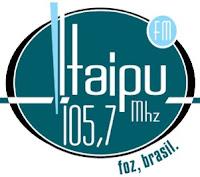 Rádio Itaipu FM 105,7 de Foz do Iguaçu PR