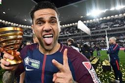 Dani Alves Berhasrat Untuk Main Di Premier League Sebelum Pensiun
