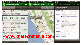 Best Earthquake Alerts App For Android , ios User