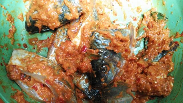 ikan saus tempoyak