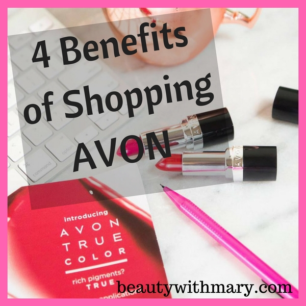 Why Shop Avon - 4 Benefits