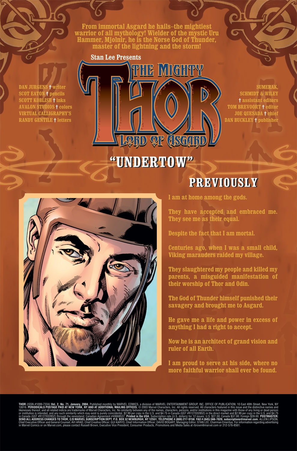 Thor (1998) Issue #71 #72 - English 2