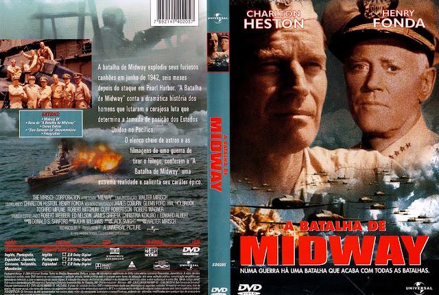 Capa DVD A Batalha de Midway