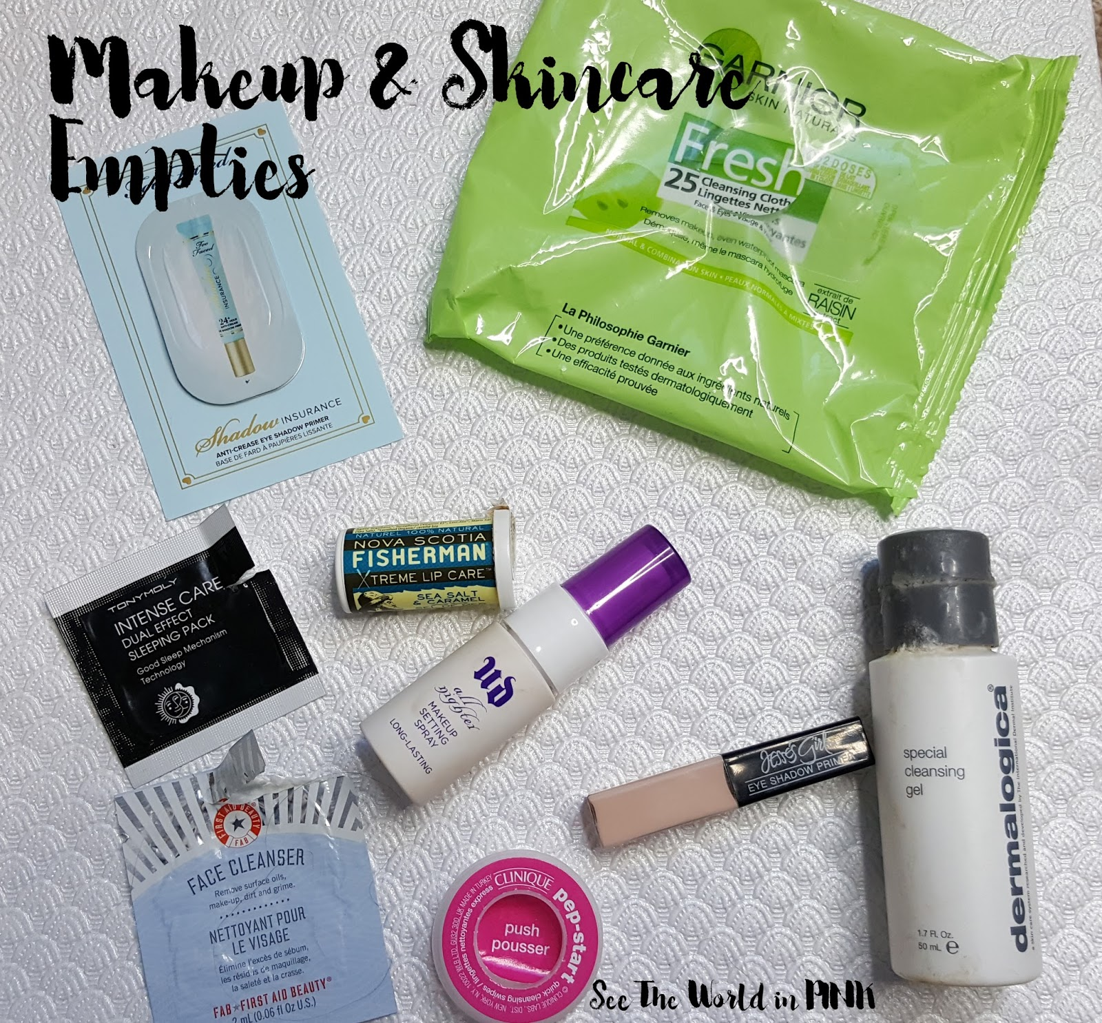 December 2017 - Monthly Empties and Month in Masks!