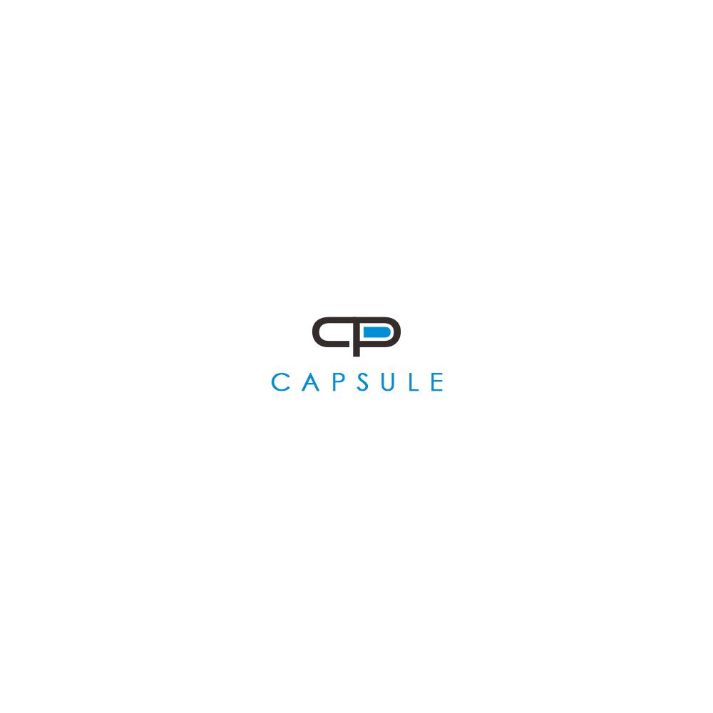 CP Capsule Text Logo Idea