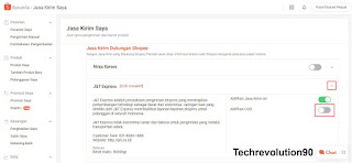 Pengaturan COD via Shopee Seller Center PC Laptop Browser 2