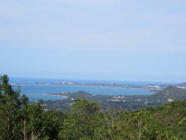 Остров Самуи Маенам, Бопут с горы