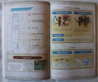 The Legend Of Zelda - Skyward Sword - Manual interior