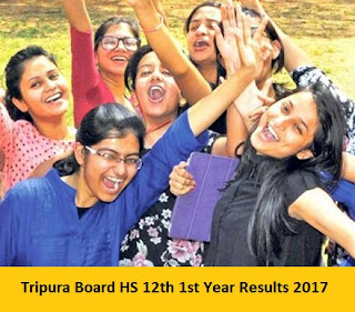 Tripura Board HS 12th 1st Year Results 2017