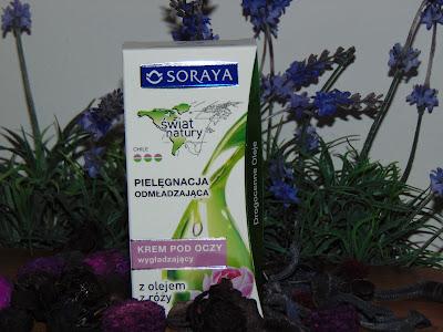 Soraya, Świat Natury, Krem pod oczy wygładzający -wiesiołek i olej z róży